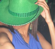 Haha I had my birthday party on St. Patrick's day; my theme was to wear blue instead of green ;)